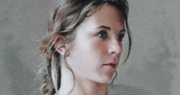 法国女粉彩大师,描绘的女性之美,细腻柔和