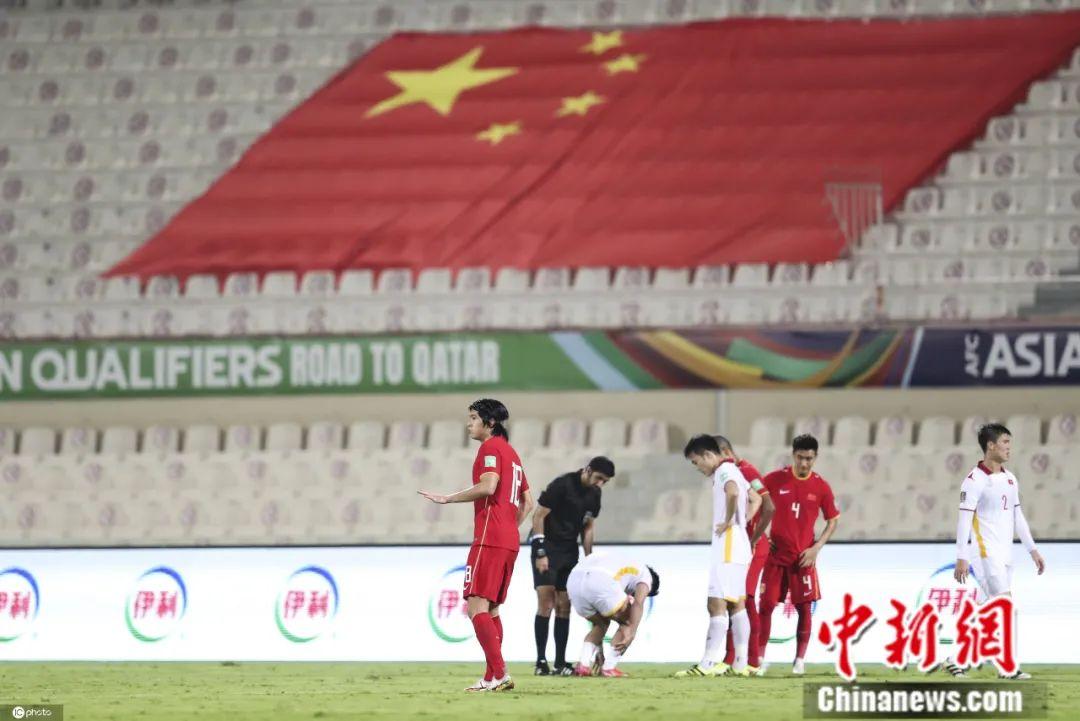 对阵越南发挥不错的张玉宁,在本场依旧有出色发挥。图片来源:IC photo