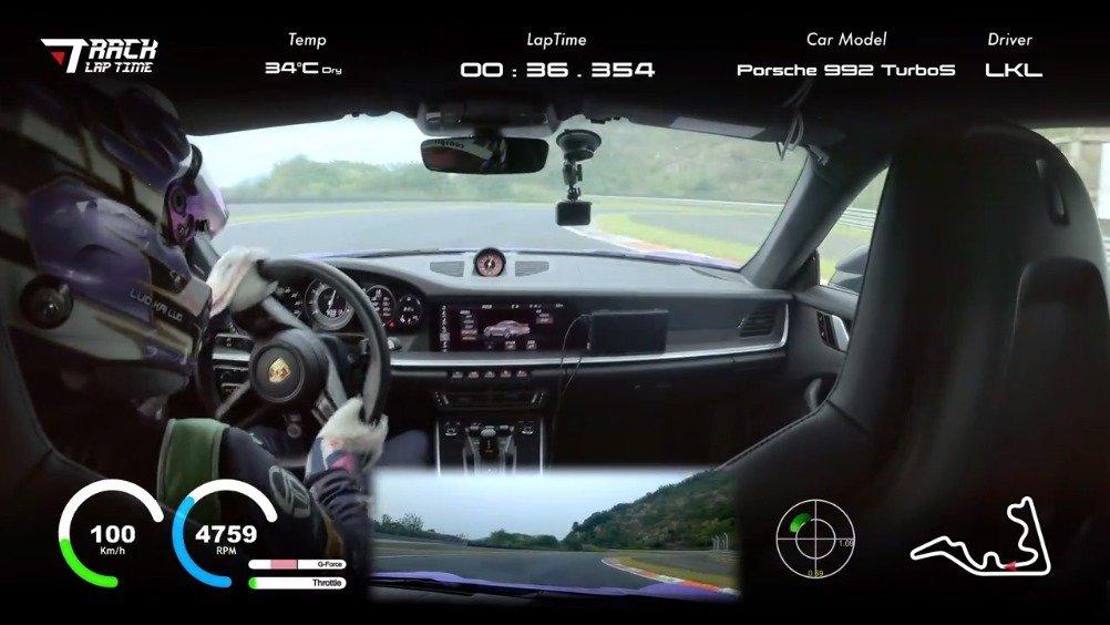 视频:保时捷911 Turbo……