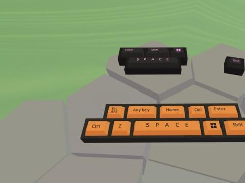 移动方式似《Gorilla Tag》,键盘模拟VR游戏《ISNOCHYC》来袭