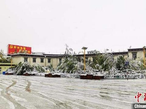 西藏多地迎来降雪天气