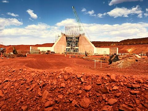 7-9月必和必拓铁矿石产量下降约5% 维持全年产量预期