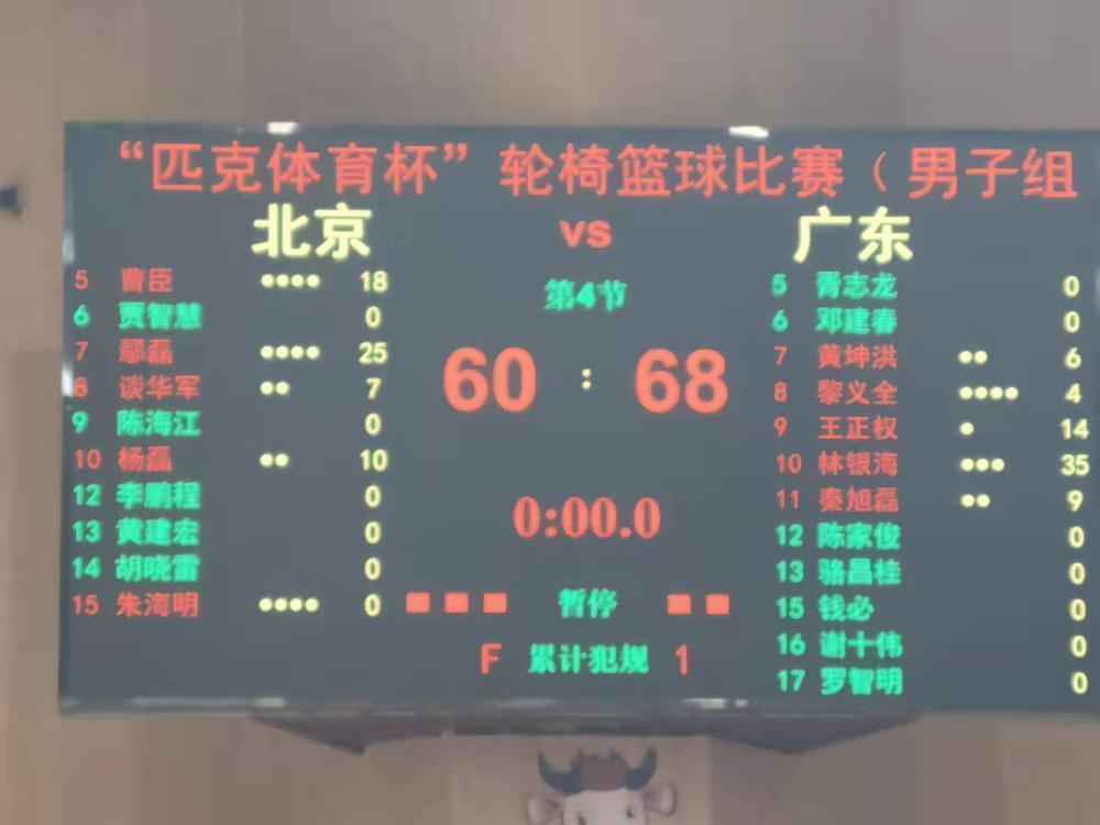 聚焦残运会 首次夺冠!广东男子轮椅篮球队创造历史