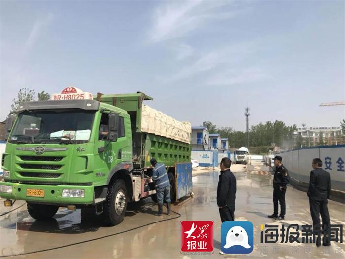 鄄城县综合行政执法局:提升渣土运输服务 优化营商环境