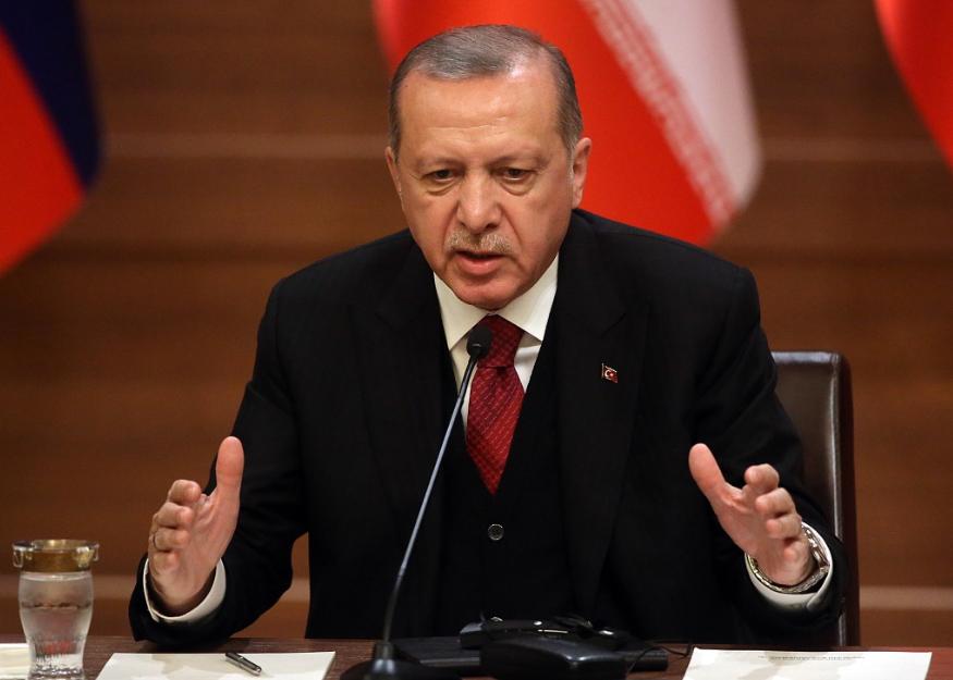 """土耳其总统下令宣布美国等10国大使为""""不受欢迎的人"""""""