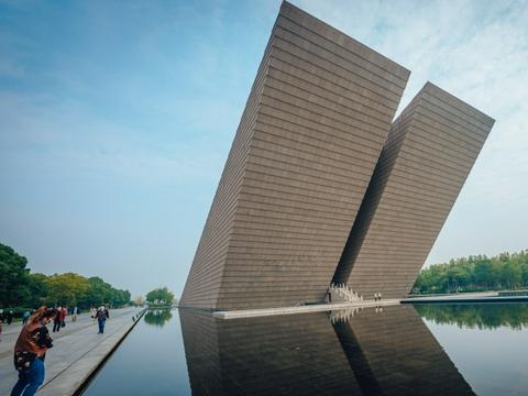 每当亲友来到合肥,我都会第一时间推荐渡江战役纪念馆