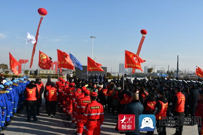 成武县公安局:以警之名致敬首个中国人民警察节