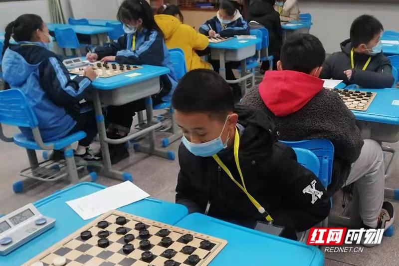 棋逢对手其乐无穷 湖南第十届国际跳棋锦标赛开赛