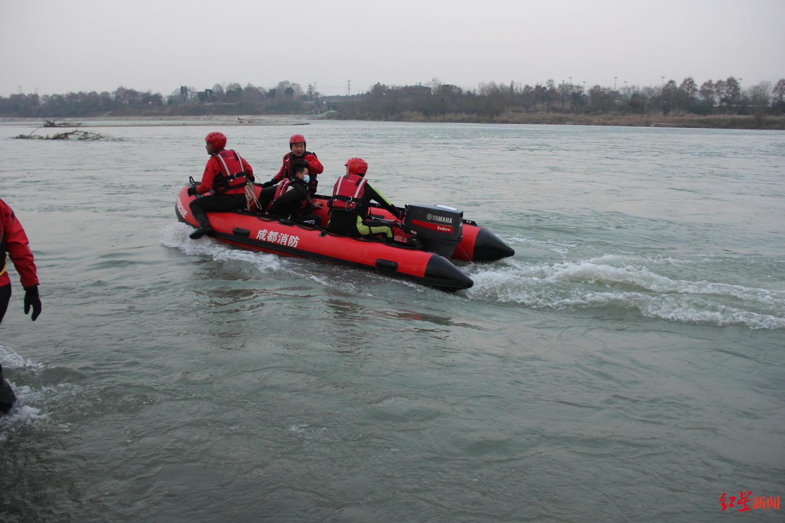 半天内两人接连被困四川温江金马河  消防提醒:远离河道浅滩