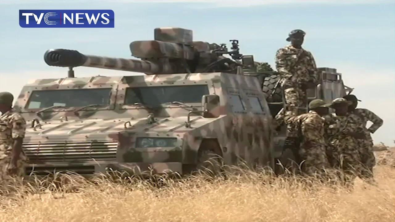 尼日利亚打击东北部博科圣地组织,VT4坦克首次参
