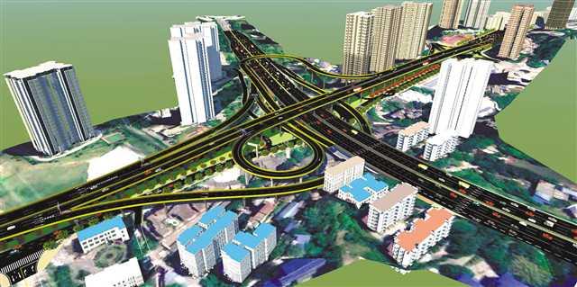 总投资约456亿元!陶家隧道黄桷坪长江大桥等九个重点工程开工
