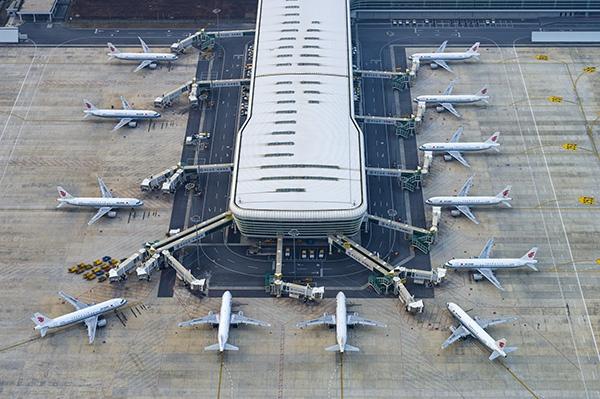 我国民航机队规模达6747架。人民视觉 资料图
