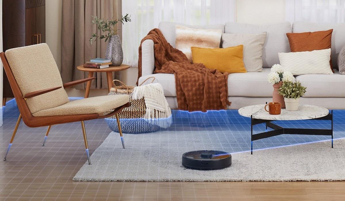 石头扫地机器人 S7 发布:采用声波震动拖布,能自动识别地毯