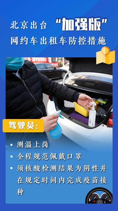 """北京""""加强版""""网约车出租车防控措施实施首日:落实得怎么样?图片"""