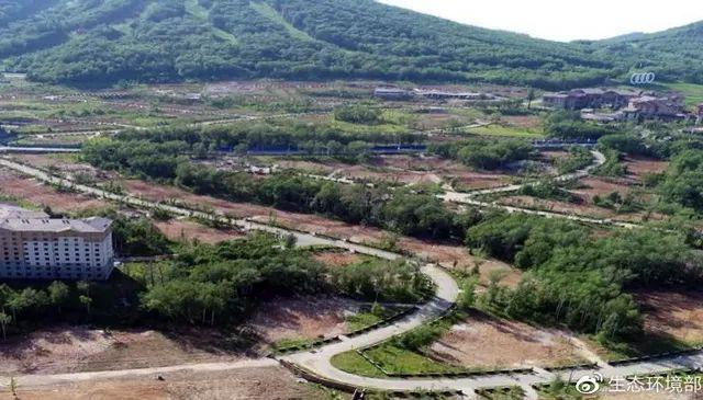 长白山国际度假区187套别墅全拆除
