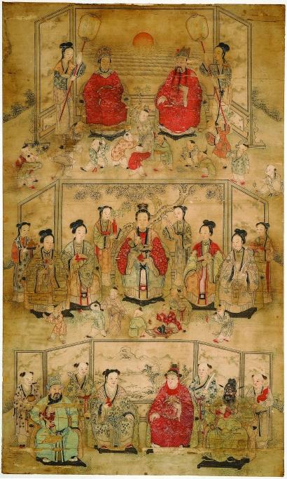 肖像画里有中国人的家风和文化底蕴