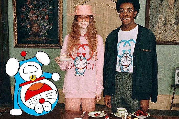 """从《哆啦A梦》到《龙猫》 奢侈品牌为何爱上""""二次元""""?"""