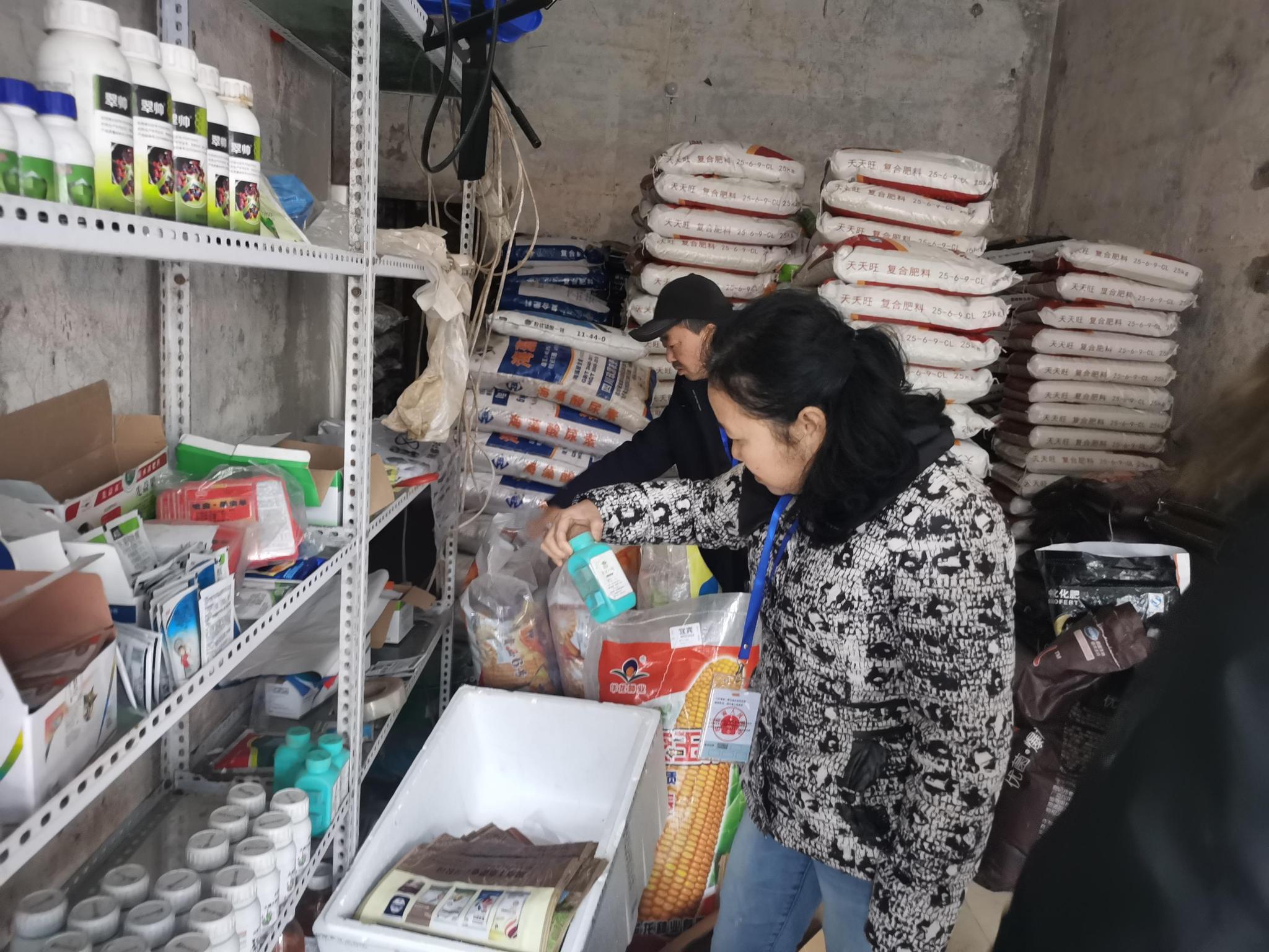 屏山县农业农村局开展二氯异氰尿酸钠清查专项行动