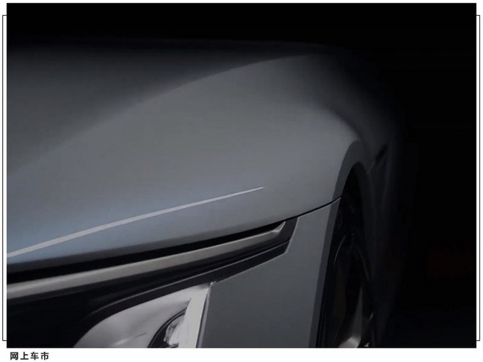 凯迪拉克全新电动轿车曝光,智能玻璃车顶,一体式中控大屏