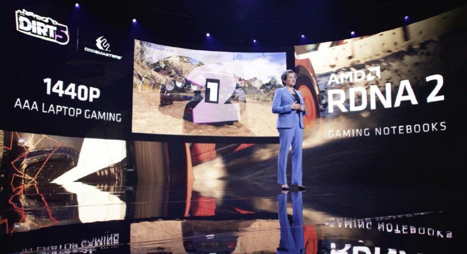 AMD:首款RDNA 2架构显卡笔记本上半年发布