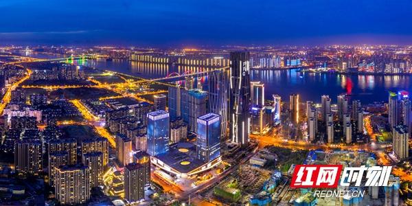 """湖南湘江新区:项目成""""林"""" 擘画特色鲜明城市格局"""