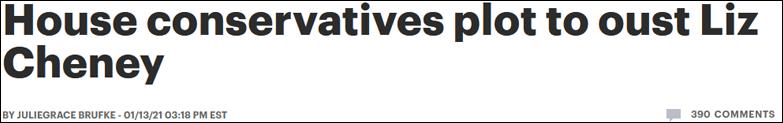 """因支持罢免特朗普 共和党""""三号人物""""面临免职风险"""