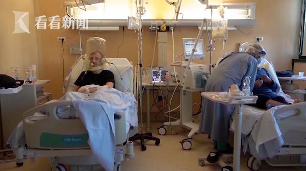 视频|医疗资源不堪重负 英国拟让新冠患者提前出院