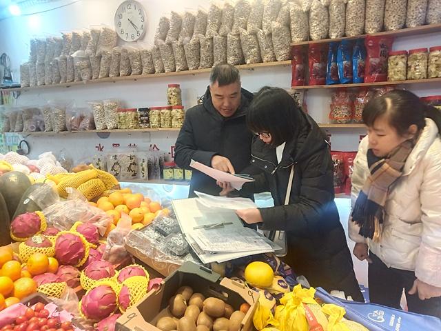 """柘荣县市场监管局开展""""两节""""食品安全专项抽检"""