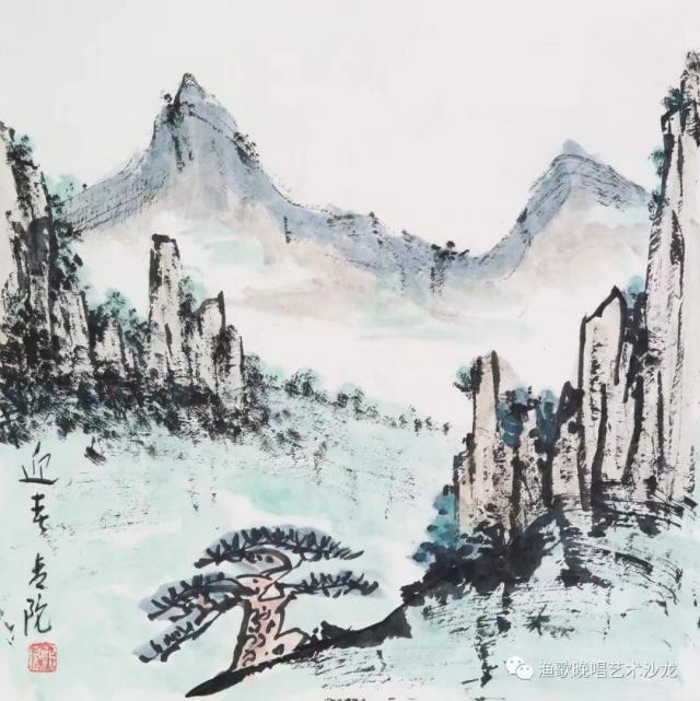 广州艺博院展出美术史论家郭因的笔墨世界