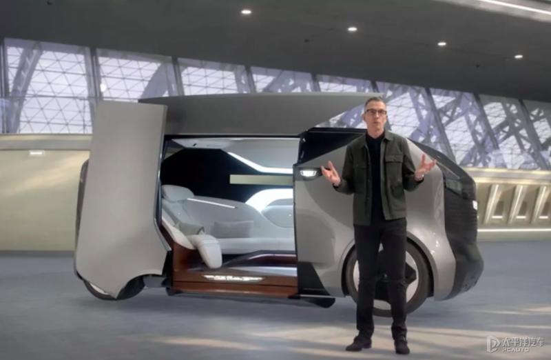 CES2021:凯迪拉克Halo自动驾驶概念车