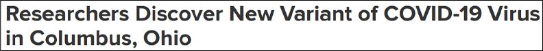 美国发现两种本土新冠变异毒株,福奇:我提醒过了