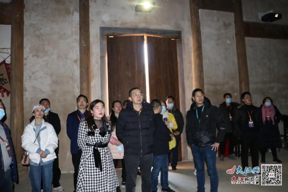 广信区政协视察望仙峡谷小镇乡村旅游文化产业发展情况