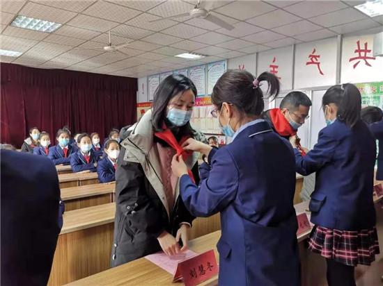 中国少年先锋队坊子区实验学校第六次代表大会胜利召开