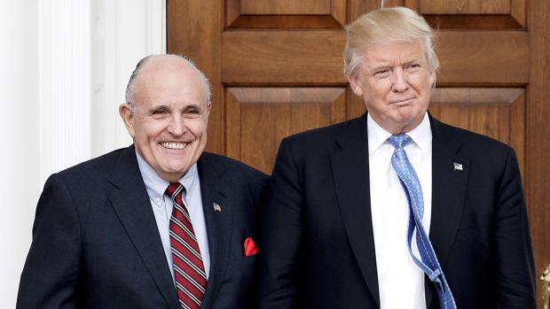 美媒:两次弹劾案后 朱利安尼誓言继续支持特朗普