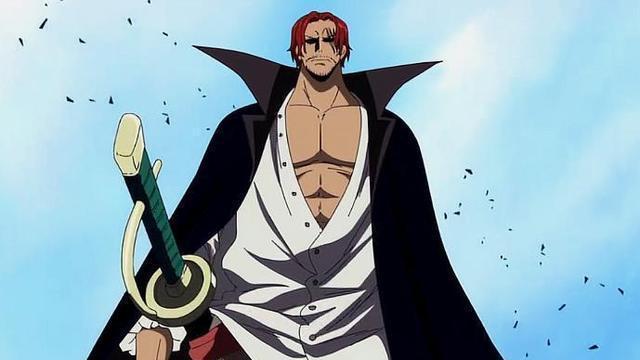 海贼王:红发香克斯实力得到证明,在凯多眼里他比肩罗杰、白胡子