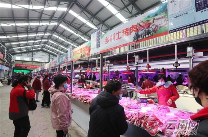 昆明市集贸市场提升整治成效显著