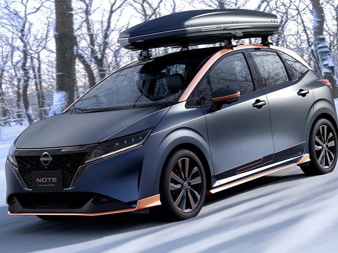 日产Note新车型发布,搭e-Power动力系统,哑光灰涂装