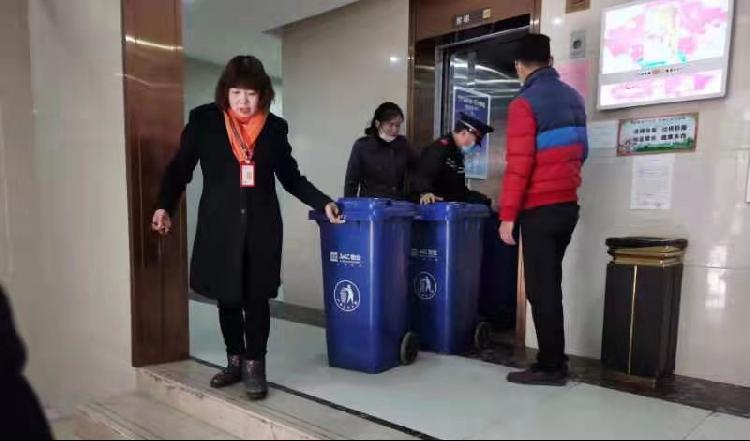 巴南区李家沱街道垃圾分类: 楼层撤桶是关键、分类投放是目标