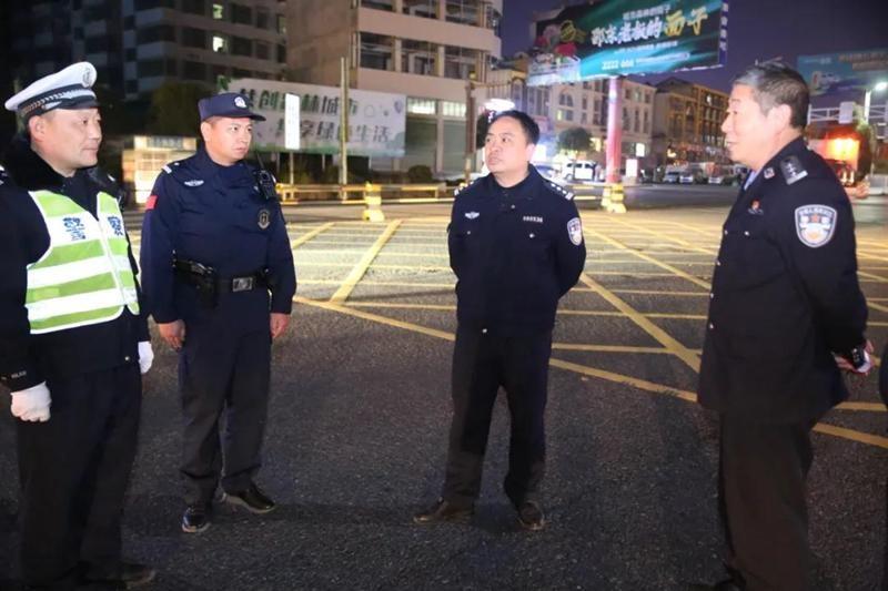地毯式 全覆盖 邵东警方开展常态化清查