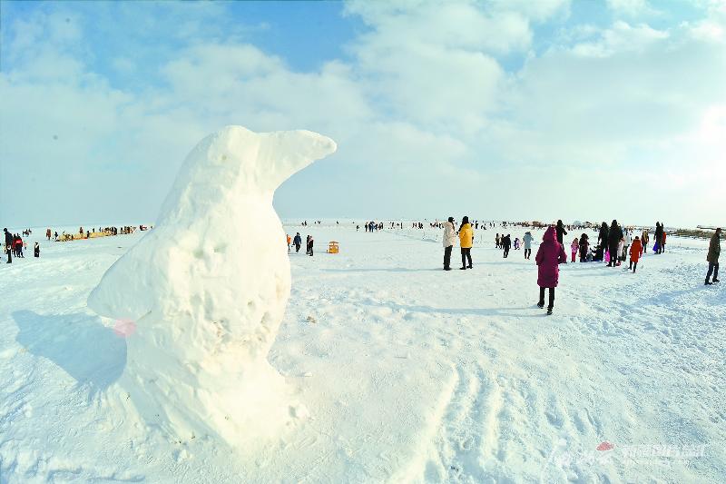 【新疆是个好地方】博斯腾湖大河口景区:冰上体验任你选