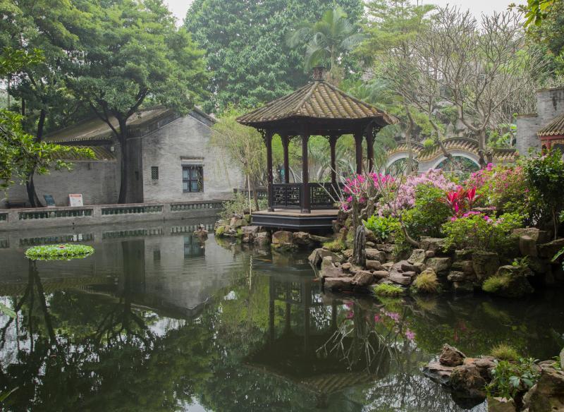 清晖园:四百年沉淀岭南名园 与城市交融出新魅力
