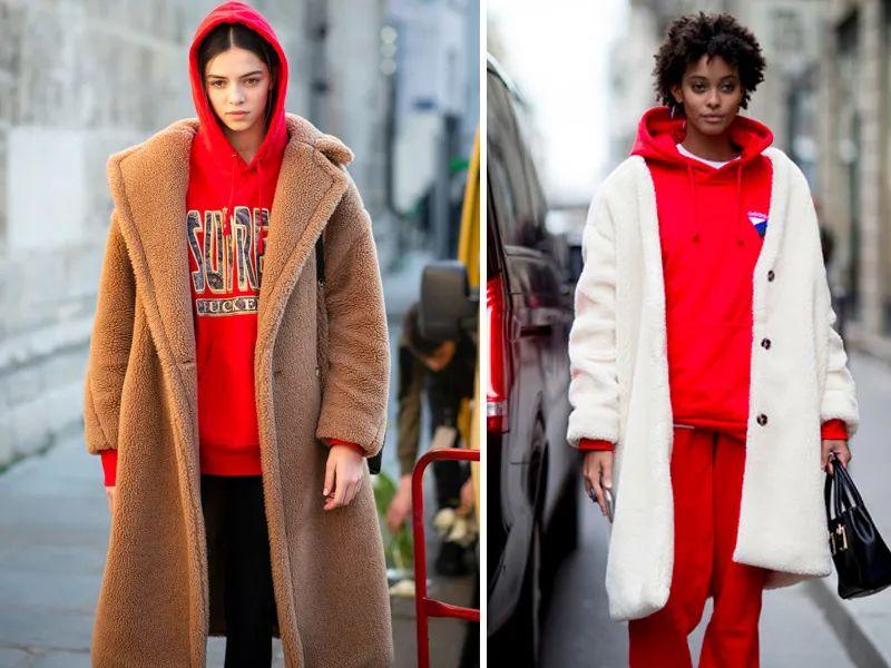 冬日超实用卫衣穿搭法 显瘦保暖 对各种身材都友好