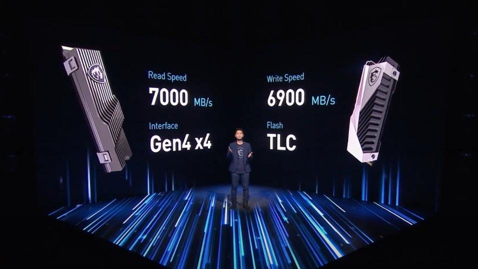 微星首款固态硬盘 GAMING SSD 发布:PCIe 4.0 x4 协议,容量最高 4TB
