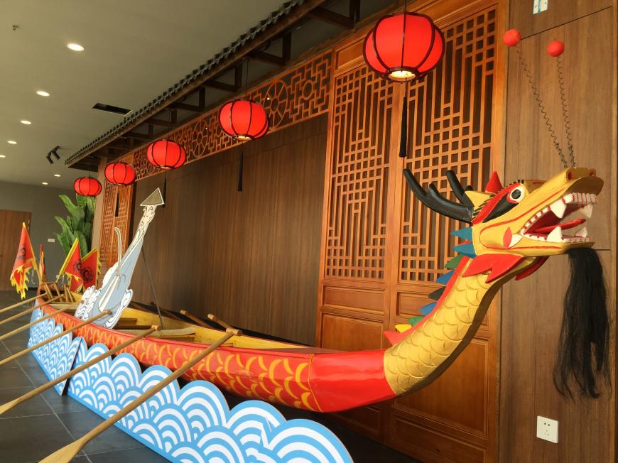 行车惠州东莞可打卡醒狮舞龙!广东首个双主题高速服务区亮相