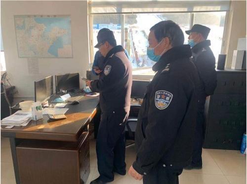 山东省青州市局五里派出所开展景区安全检查