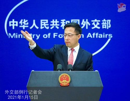 中国成全球唯一实现货物贸易正增长主要经济体 外交部回应