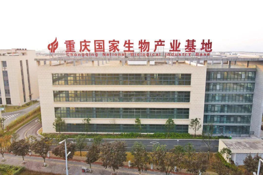 位于西部(重庆)科学城的重庆国度生物家当基地。邹乐 摄