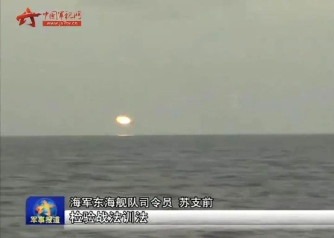 高抛弹道,一击必杀,中国首次曝光反导拦截作战热成像画面!