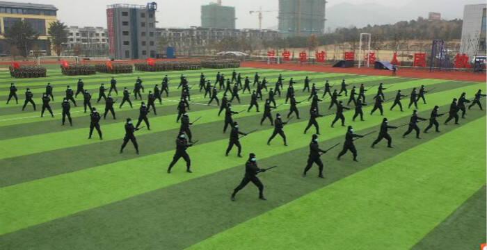 47秒丨日照市军警民联建联训启动活动在市人民警察训练基地举行
