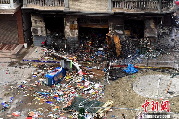福州一路段燃气管道突发燃气爆炸:致一人身亡,原因正调查